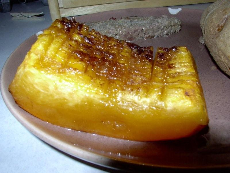 Baked Banana Squash By Larry Andersen
